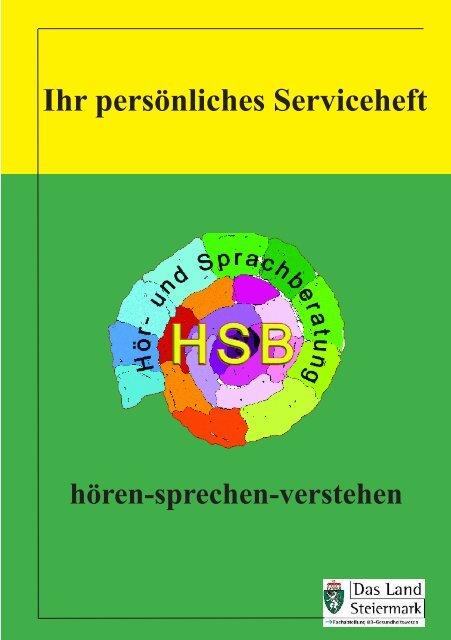 Ihr persönliches Serviceheft - Gesundheitsserver - Land Steiermark