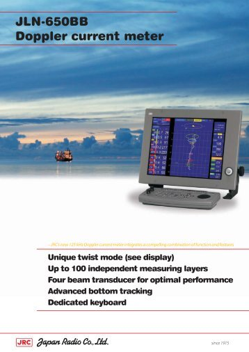 JLN-650BB Doppler current meter - Jrc