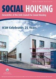 iCsH Celebrates 25 Years - The Irish Council for Social Housing