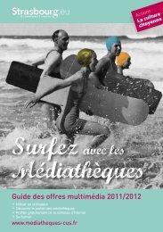 Guide des offre multimédia - Médiathèques de la ville et de la ...