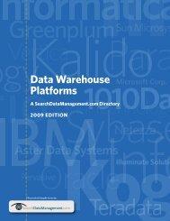 Data Warehouse Platforms - Bitpipe