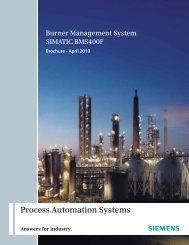 Burner Management System - Industry - Siemens