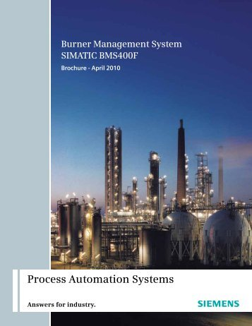 Burner Management System - Industry - Siemens