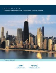 Program Manual - North Shore Gas