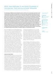 MAYA: Neue Methoden für den Massiv Paralleltest im ... - edacentrum