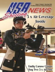 Volume 17, Number 2 • March/April 2009 The ... - USA Shooting