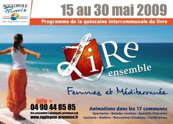15 au 30 mai 2009 - Agglopole Provence