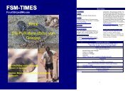 FSM-TIMES issue 28 - Striped Mouse