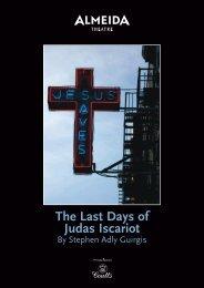 The Last Days of Judas Iscariot - Almeida Theatre