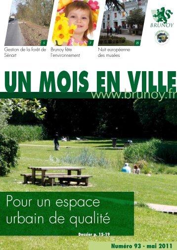 Pour un espace urbain de qualité - Brunoy