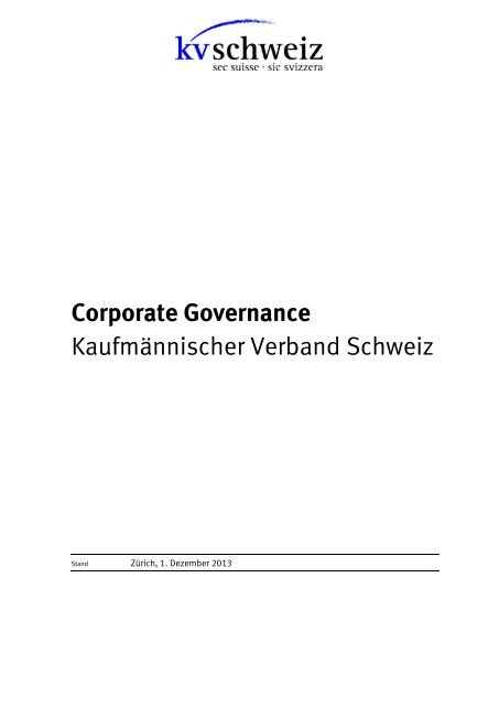 CG 2013 (PDF, 229 kb) - KV Schweiz
