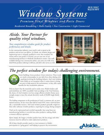 Window Systems - Home Doors & Windows