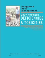 Crop Nutrient Deficiencies and Toxicities - Integrated Pest ...