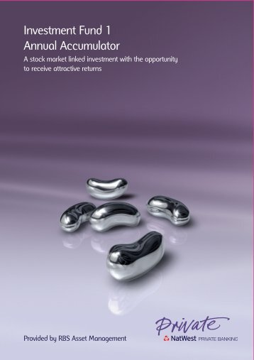 Investment Fund 1 Annual Accumulator - NatWest