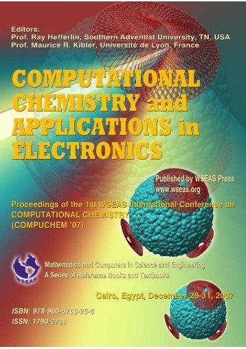 computational-chemis - WSEAS