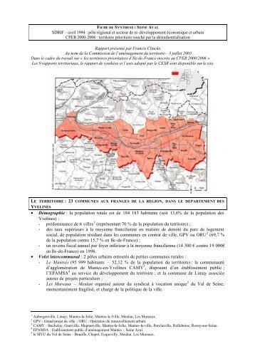 Télécharger la synthèse du rapport - CESER Ile-de-France