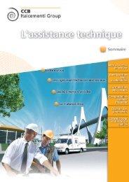 Tout savoir sur nos services d'assistance technique ciments - CCB