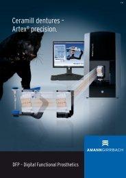 Digital Functional Prosthetics Brochure - Dental Tribune International