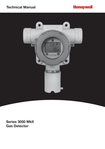Technical Manual Series 3000 MkII Gas Detector - Merkantile