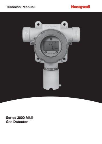 Technical Manual Series 3000 MkII Gas Detector - Merkantile
