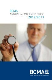 New Title - British Columbia Medical Association