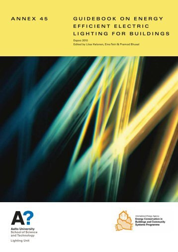 annex 45 guidebook on energy efficient electric lighting for ... - Ecbcs