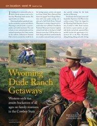 Wyoming Dude Ranch Getaways - Leisure Group Travel