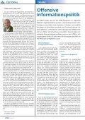 Offensive Informationspolitik Offensive Informationspolitik - VÖEB - Page 2