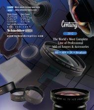 Century Pocket Booklet - Schneider Optics