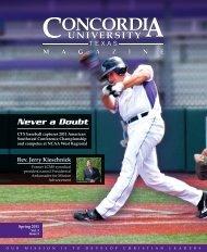 Never a Doubt - Concordia University