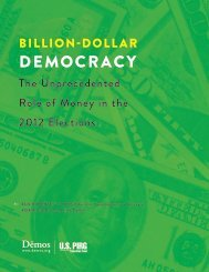 Billion-Dollar Democracy - Demos