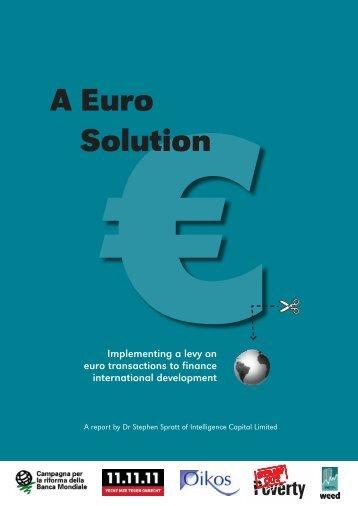 €A Euro Solution - Steuer gegen Armut