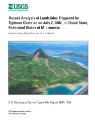 Hazard Analysis of Landslides Triggered by Typhoon Chata'an on ...