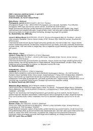 Side 1 af 4 DKK's nationale udstilling Tønder, 2. april 2011 Dommer ...