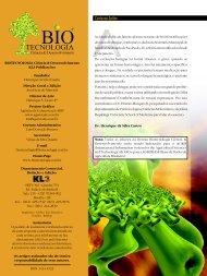 Carta ao Leitor - Biotecnologia