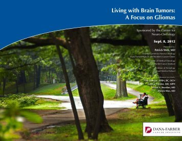 Living with Brain Tumors - Dana-Farber Cancer Institute