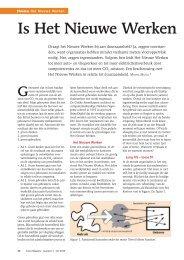 Is Het Nieuwe Werken - Facto Magazine