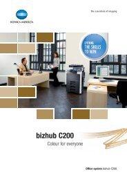 bizhub C200 (Pdf)