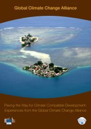 Paving the way for climate compatible development - Global Climate ...
