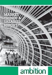 market trends & salaries report market trends & salaries report