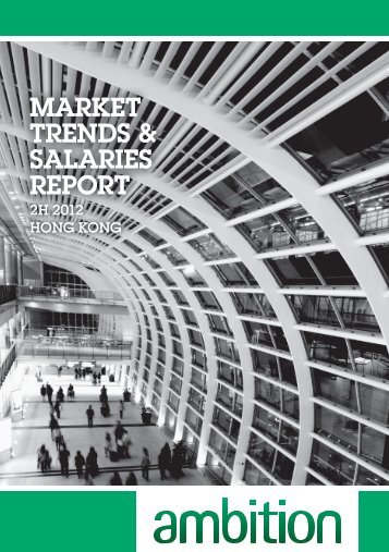 market trends & salaries report market trends & salaries report