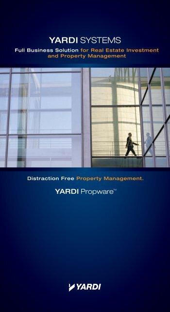 UK-Yardi Propware 4