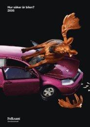 Hur säker är bilen? 2005 - Folksam