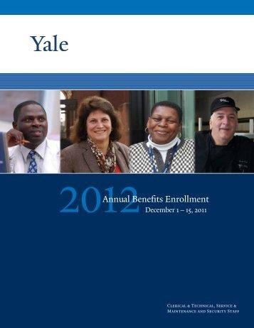 Annual Benefits Enrollment - Yale University