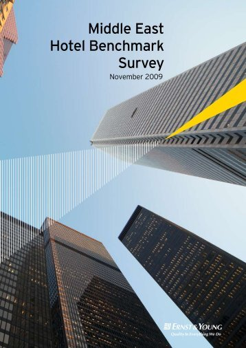 Ernst & Young Middle East Hotel Benchmark Survey