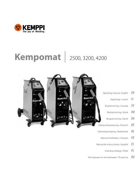 kemppi manual 250