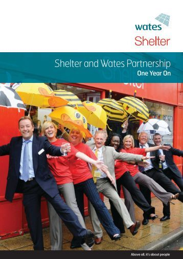 To download our Shelter, one year on report click here - Wates