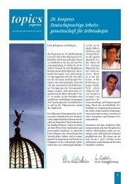 Abstracts 2003 als PDF - AGA