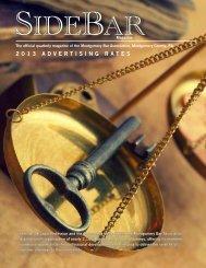 2013 Sidebar Media Kit - Montgomery Bar Association