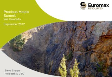 Precious Metals Summit - gowebcasting
